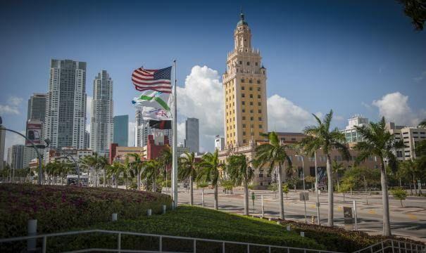 el downtown de Miami