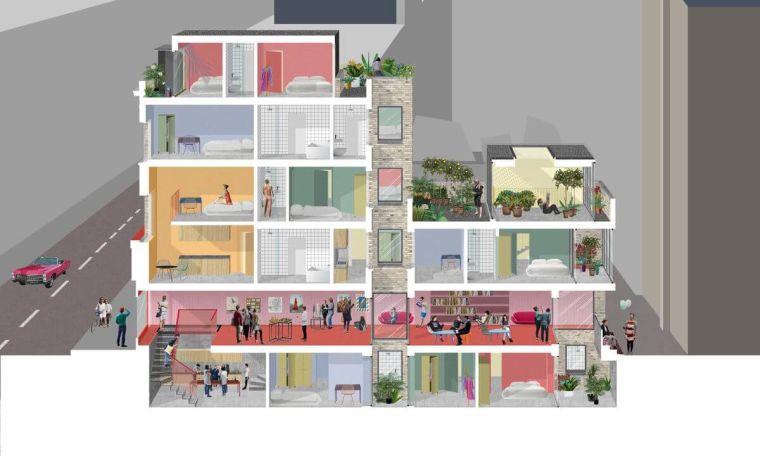 Los hogares comunes son el nuevo formato multifamiliar en Miami