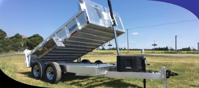 How To Safely Operate A Hydraulic Dump Trailer