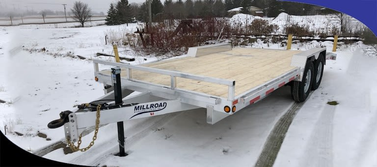 How To Properly Store Your Custom Aluminum Trailer