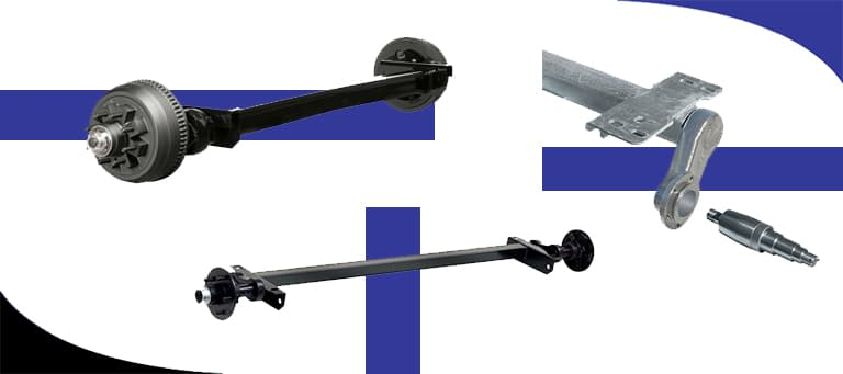 The Basics of Trailer Axles for a Deckover Trailer