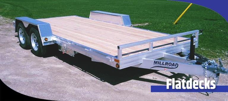 Difference Between a Deckover and Flatdeck Trailer?