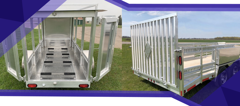 Whats the Right Size for Your Custom Aluminum Trailer
