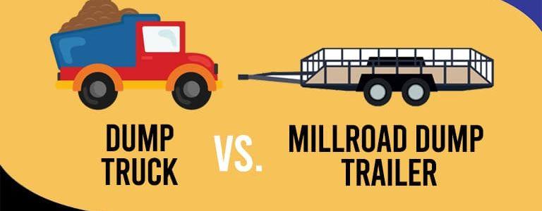 Millroad-Blog-Can A Dump Trailer Replace a Dump Truck
