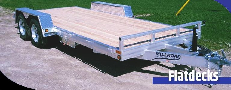 Understanding the Difference Between a Deckover and Flatdeck Trailer