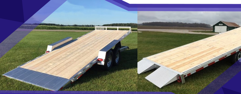 How To Load Equipment Onto a Flatdeck Trailer