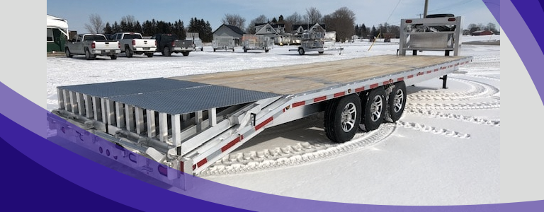 4 Ways To Keep You and Your Trailer Safe During Winter