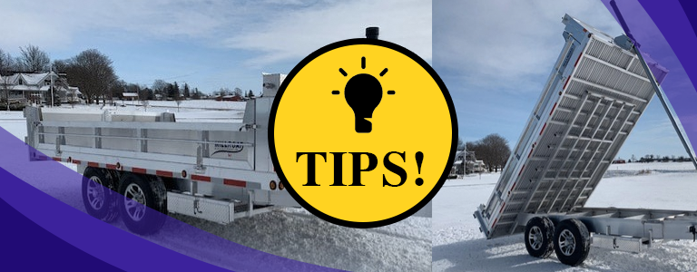 Tips To Get Your Dump Trailer Ready for the Cold Weather