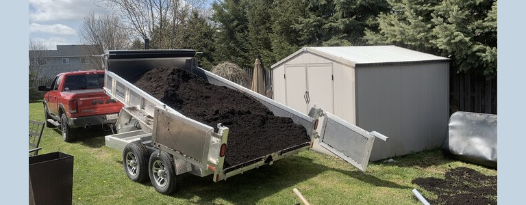 Here's Why a Millroad Dump Trailer Makes the Job Easier