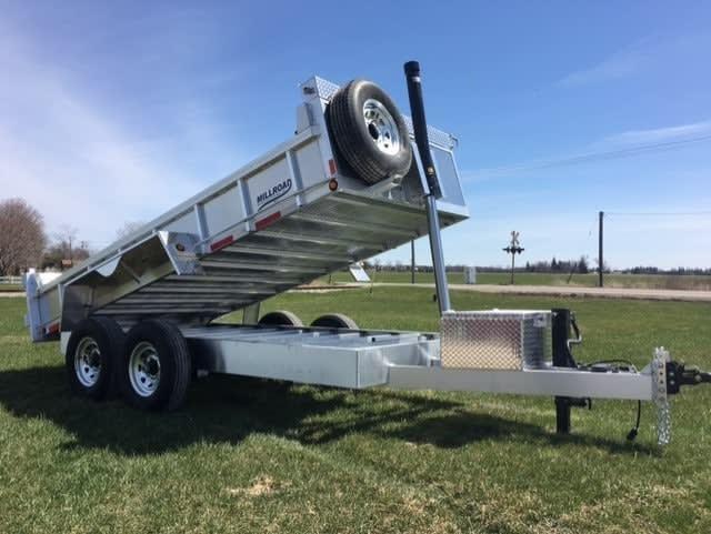 Aluminum trailer MD71