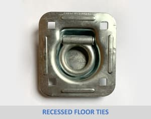 Recessed Floor Ties