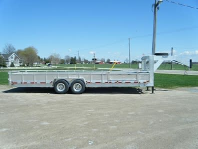 MGN30S-7 WITH CUSTOM SIDES AND MOUNTED SPARE TIRE