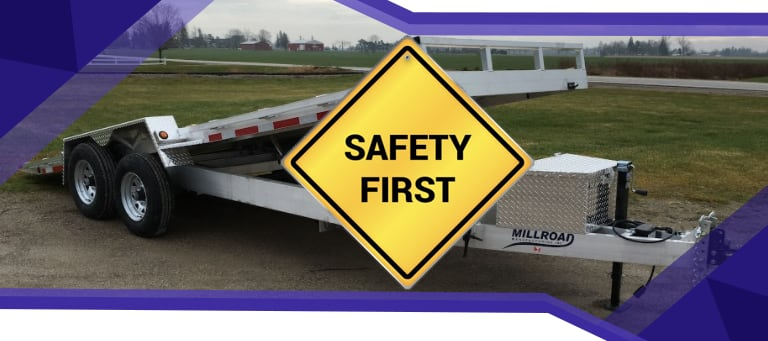 Using a Trailer Loading Ramp Safety Tips