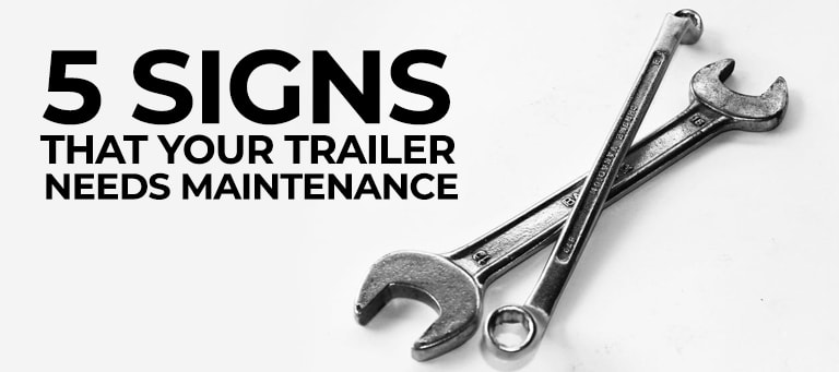 Maintenance and Care for your Custom Aluminum Trailer