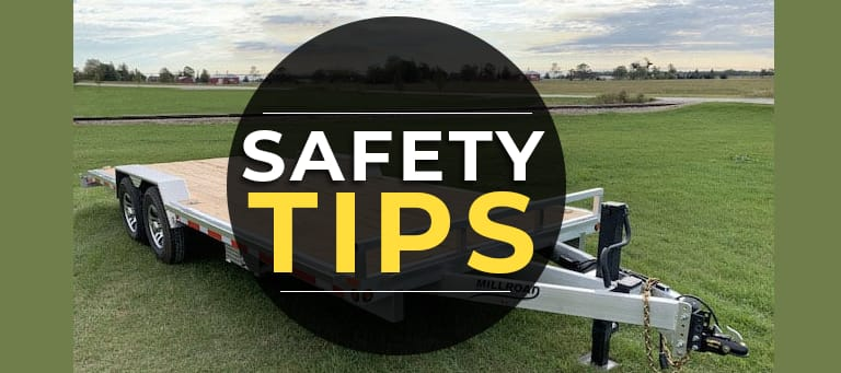 Flat Deck Trailer Safety Tips