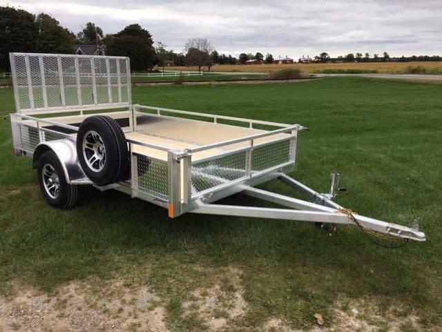 MS6610DW FRONT DROP WALL, MOUNTED SPARE TIRE & ALUM RIMS