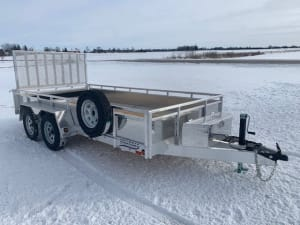 MST1480 W/ COMBO TAILGATE & MOUNTED SPARE TIRE