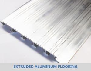 Extruded Aluminum Flooring