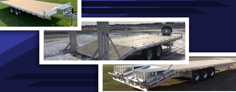 What are Your Ramp Options on a Deckover Trailer
