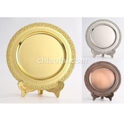 金屬紀念盤(金銀銅色)2
