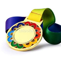 彩色花邊獎牌 (3)