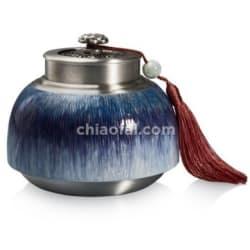 荷塘月色 茶葉罐2