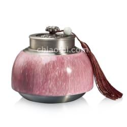 荷塘月色 茶葉罐