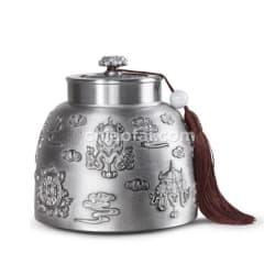 八寶如意 茶葉罐