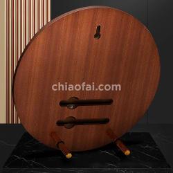 木製圓形金屬片獎牌3