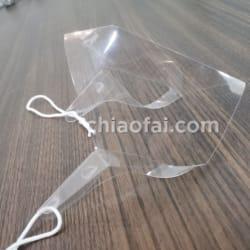 tvb明星同款活動專用透明口罩 (2)