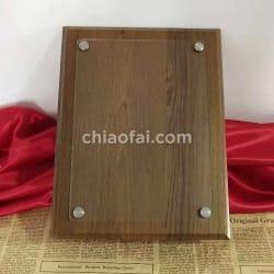 木製透明片獎牌 (2)