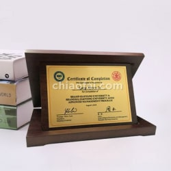 Box-shaped Trophy