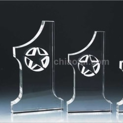 Crystal Trophy (Cup Shape)