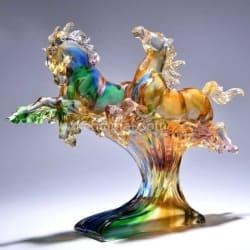 古法琉璃工藝品