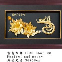 3D Gold Foil Picture