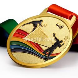 羽毛球獎牌2