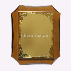 鋁板八角高檔獎牌3 (1)