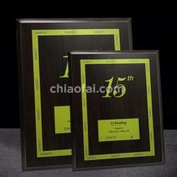 黑胡桃木色獎牌 (1)