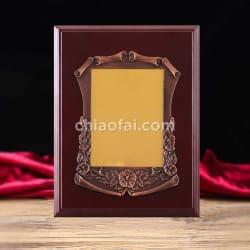 銅色花框獎牌2