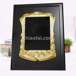 金色花框獎牌1