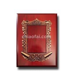 銅色葡萄框獎牌