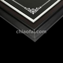 黑檀木鏡面水晶獎牌3