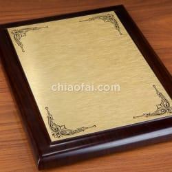 黑檀木紋獎牌 (2)
