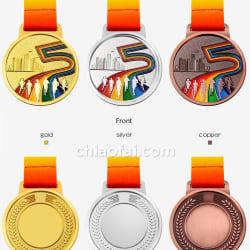 馬拉松獎牌3