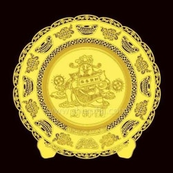 Thin Gold Plate