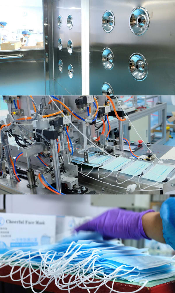 Made In Hk Astm Level2 Mask Factory
