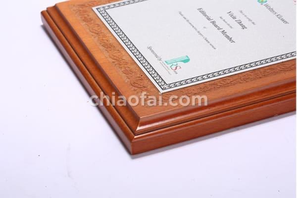 欅木色珠光鋁片獎牌 (2)