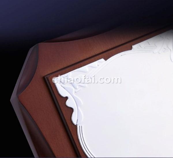 鋁板熱轉印八角獎牌7