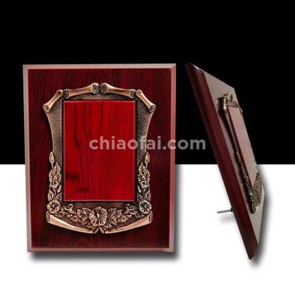 銅色花框獎牌 (3)