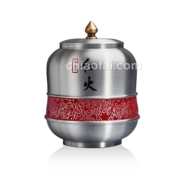 紅火 茶葉罐